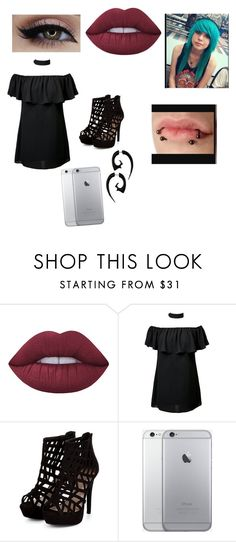 """""""Untitled #104"""" by lovemybands4ever on Polyvore featuring interior, interiors, interior design, home, home decor, interior decorating, Lime Crime and H&M"""