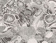Paper CutOut Art Pieces By Bovey Lee Art Pieces Rice Paper And - Incredible intricately cut paper designs bovey lee