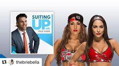 💋💪🏽Such an honor! Thank you @paulrabil so much for the interview! And check out BTS on our @youtube channel!  #Repost @thebriebella ・・・ Make sure to catch our interview with @paulrabil 🙌🏽 we talk about our journey, our business ventures and the best advice we've been given!! LINK in bio #suitingup #bellatwins #wwe #totaldivas #totalbellas #birdiebee #belleradici #mybirdiebee #entrepreneur