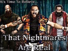 "the wyatt family wwe | Wallpaper Of The Week: The Wyatt Family – ""The Nightmares Are Real ..."