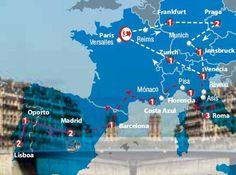 Oferta de viaje a Francia. Entra, informate y reserva el viaje Circuito de 17 o 20 dias, Visi�n Europa inicio en Paris