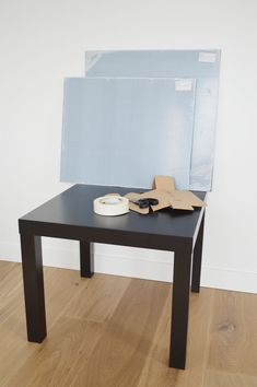 IKEA Hack Lack Table with Plexiglas - IKEA Hack Lack Tisch mit Plexiglas