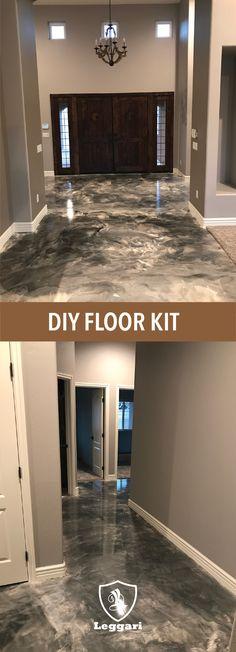 Epoxy Resin Bathroom Floor