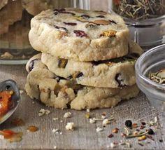 Pistachio & cranberry slice-and-bake cookies