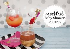 Baby Shower Mocktail Recipes