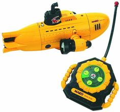 Swimline R/C Submarine, 49mhz Climbs and dives below water surface! Come complete with Search light and long range transmitter! Powerful remote control gives this submarine maximum range!