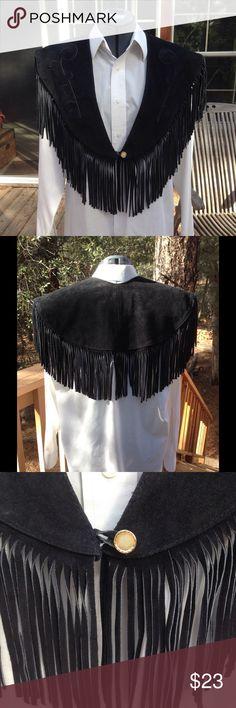 Betsey Johnson Scarf Black Velvet Gathered Ruffled  Lacy Trim Long RET 58