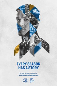 Every season has a story. We needed to show 3 players, supporters, and other sport images in these ads, so we came up with this cool layout. My part on this was the idea of the visual, the selection of the pictures, the retouching and design.Photograp…