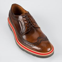 Paul Smith Shoes | Tan Grand Brogues