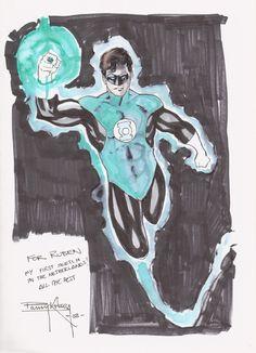 Green Lantern by Barry Kitson
