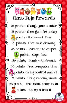 Class Dojo Behavior Management Set by Stephanie Rye-Forever in Fifth Grade Classroom Incentives, Behavior Incentives, Classroom Behavior Management, Classroom Procedures, Behaviour Management, Classroom Economy, Classroom Discipline, Classroom Environment, First Grade Classroom