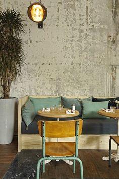 Auteuil Brasserie - Picture gallery #architecture #interiordesign #restaurant #vintage