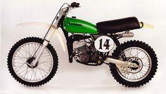 1975 Kawasaki SR250 Works racer