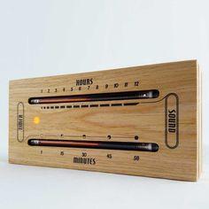 The Luminous Electronic Bargraph Clock - $229