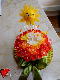 by ciupakabra Cupcake Toppers, Cupcake Cakes, Fondant, Royal Icing Flowers, Biscuit, Fun Cupcakes, Edible Art, Cupcake Recipes, Diy Food