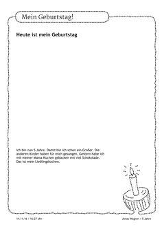Mag Jonas ein Bild von seinem Kuchen malen? Oder lieber ein Foto beifügen? Alles ist möglich, um den Geburtstag in bester Erinnerung zu behalten. https://stepfolio.de/  #KitaApp #stepfolio #digital #Geburtstag #HappyBirthday #kindergarten #kinder #Portfolio