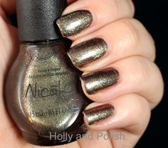 Holly and Polish: Nicole by OPI For Gold Times Sake