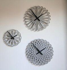 Masculine concrete clocks by LeeABS 3
