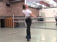 several videos which together make up a good, whole ballet barre -great for living room ballet ;)