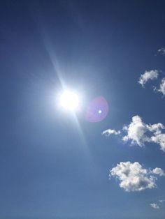 Solen, äntligen jätteklart väder denna sommar, 20150807