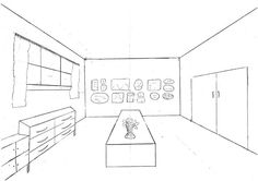 3d house 3d room interior drawing perspective pinterest 3d
