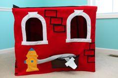 Benutzerdefinierte Feuerwache Playhouse von FairyBugsShop auf Etsy