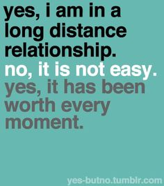 no it is nowhere near easy. but if you're willing to put effort into the relationship then it's all worth it.
