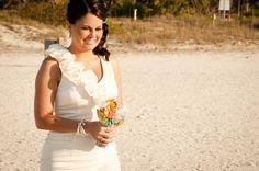 Eclectic Beach Wedding By Caroline & Evan Photography