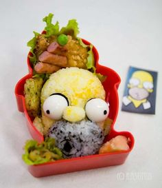 Mmmm, Now You Can Eat The Simpsons #backtoschool #bento trendhunter.com