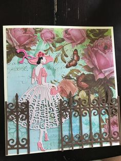 Birthday Greeting Cards, Greeting Cards Handmade, Art Deco Cards, Tattered Lace Cards, Scrapbook Cards, Scrapbooking, Pop Up Cards, Art Journal Pages, Diy Cards