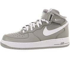 Nike Air Force One Mid Sneaker Grey 8 For my most super, laid back casual chill day