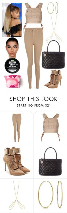 """""""Salt Lake City: September 14"""" by allison-syko ❤ liked on Polyvore featuring Topshop, G.V.G.V., Puma, Chanel, Agent Provocateur and Bling Jewelry"""