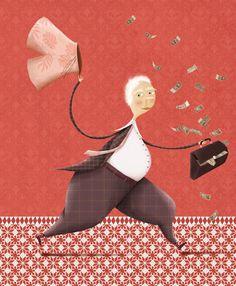 HANDITAN BANKARI IZAN NAHI DUT. Ilustrazioa: Zuriñe Aguirre