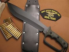 Picture of Combat Machete D Guard