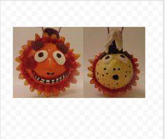 Handmade Sun and Moon Ornament Sculpture available at yumjellydonuts.etsy.com  #etsy #handmade #sun #moon #gift #sunandmoon