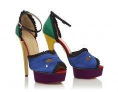 Charlotte Olympia Masquerade heels (:  e675