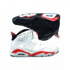 398850-901 Air Jordan VI 6 Infrared Pack Black Infrared  White Infrared A06014 Price: $175.00 http://www.theblueretros.com/