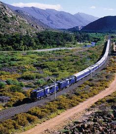 Blue Train, Africa, by Indian Luxury Trains, via Flickr #ruyal #spaces #classic #trend #india #royal #timeless #love #design #travel #luxury #train