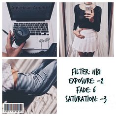 black and white instagram feed VSCO filter HB1 White Instagram Theme, Black And White Instagram, Photo Editing Vsco, Photography Editing, American Apparel, Best Vsco Filters, Photos Originales, Aesthetic Filter, Foto Pose