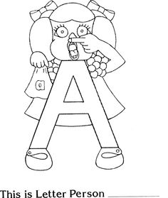 Letter People Coloring Pages - Letter People Coloring Pages , Beautiful Alphabet Worksheets Coloring Pages – Sirclaymelon Teaching Letters, Preschool Letters, Alphabet Activities, Alphabet Letters, Teaching Phonics, Preschool Learning, Preschool Activities, Kindergarten Curriculum, Learning Time