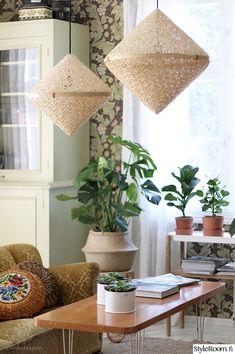 olohuone,viherkasvi,sohvapöytä,kattovalaisin,peikonlehti