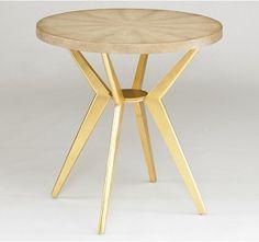 Odin Side Table (Gold or Black)