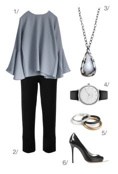 simple and chic professional style // click through for outfit details