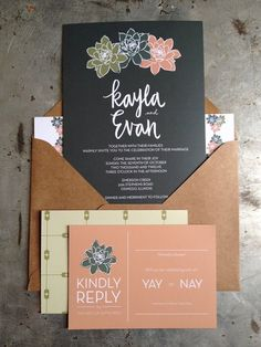 12 unique wedding invitations for the design-obsessed bride and groom - Wedding Party