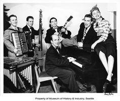 Art Barduhn Trio 1953  Art Barduhn, Stan Boreson, Russ Phillips, Glenn Thompson