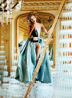 moet & chandon Great Pic & Dress too!