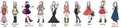 Studio Ghibli Designs by sirenlovesyou.deviantart.com on @DeviantArt