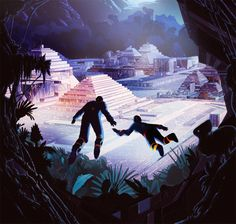 Dramatic Sci-Fi and Fantasy Illustrations by Kilian Eng | ILLUSTRATION AGE