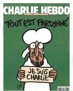Charlie Hebdo - N° 1178 - Mercredi 14 Janvier 2015 - Couverture de Luz