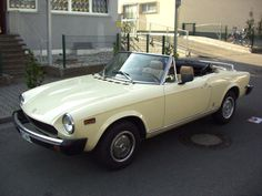 Fiat Spider 2000 USA